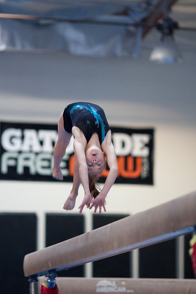 Gymnastics Action Photo