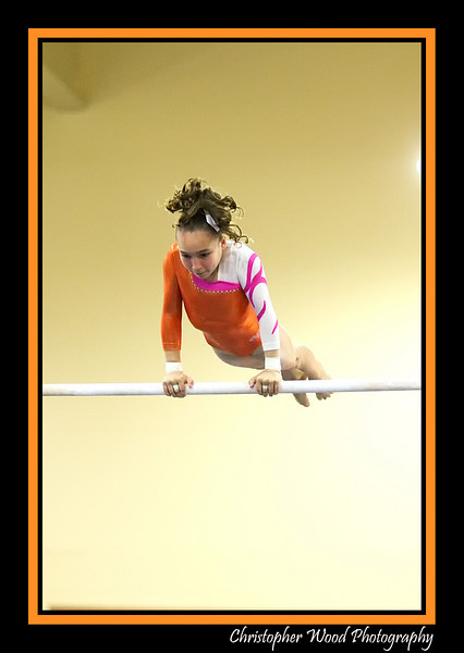 Uneven Bars Gymnastics