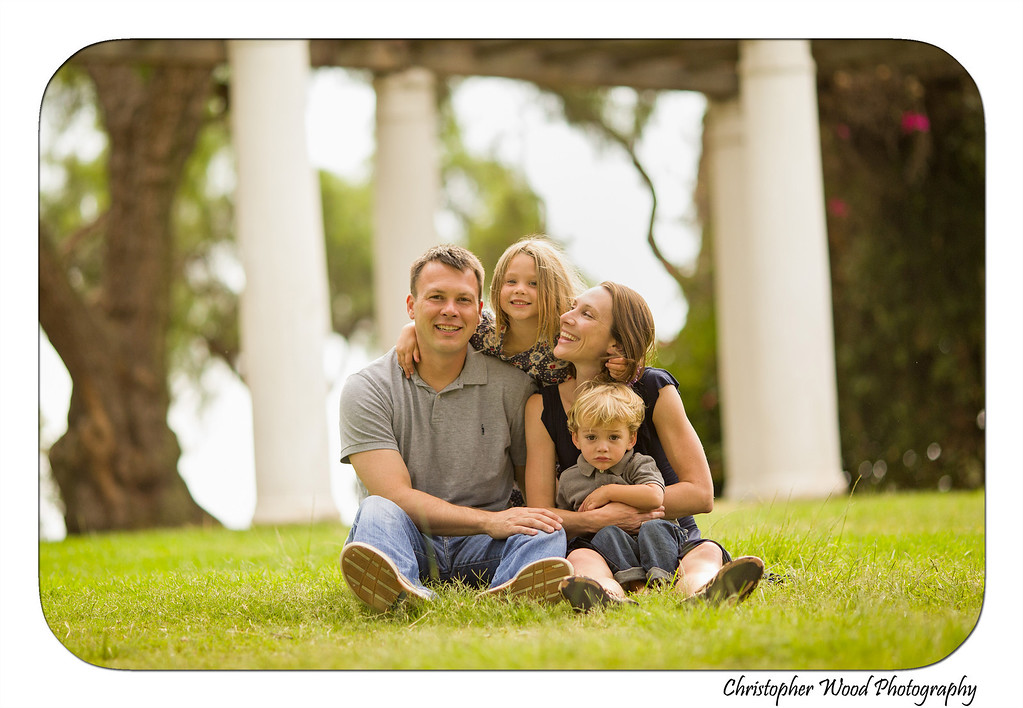 Family Photos at Presidio Park San Diego