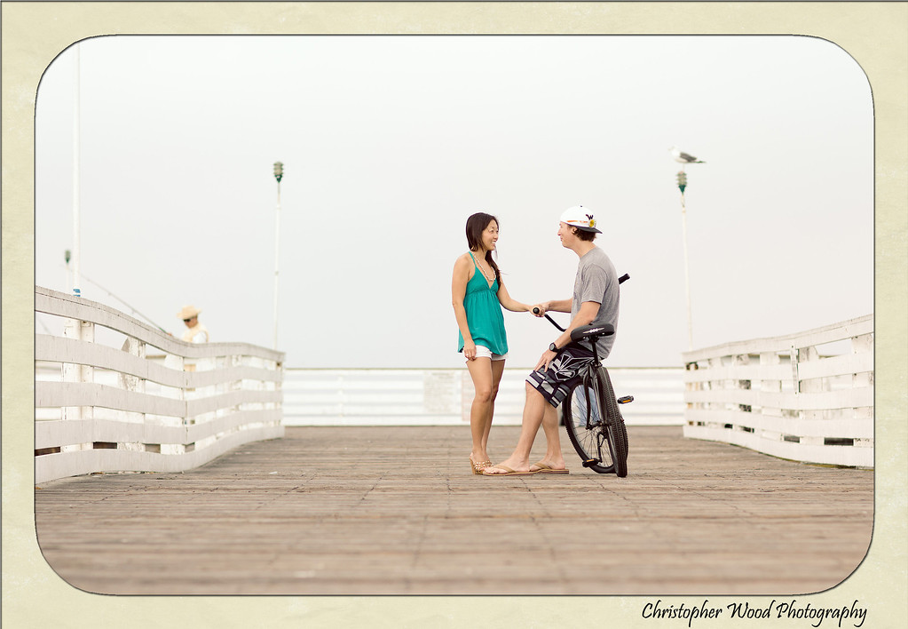 Crystal Pier Engagement Photos