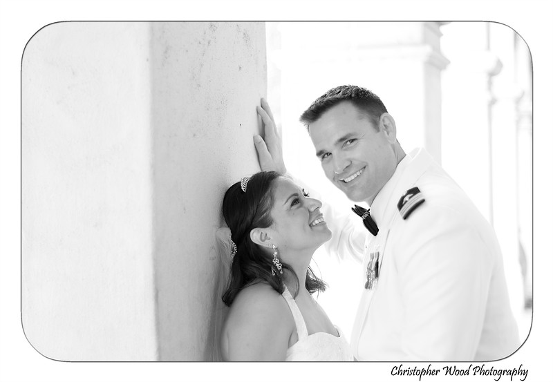 Bride and Groom Portraits at Balboa Park