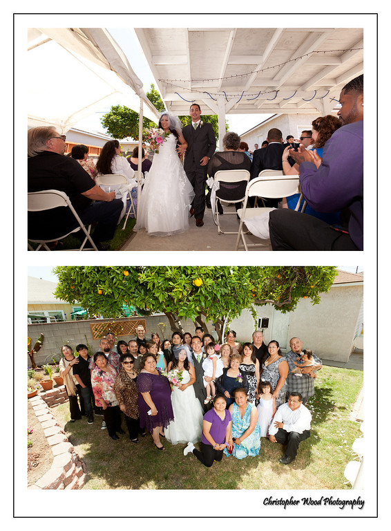 Backyard Wedding Lakewood California
