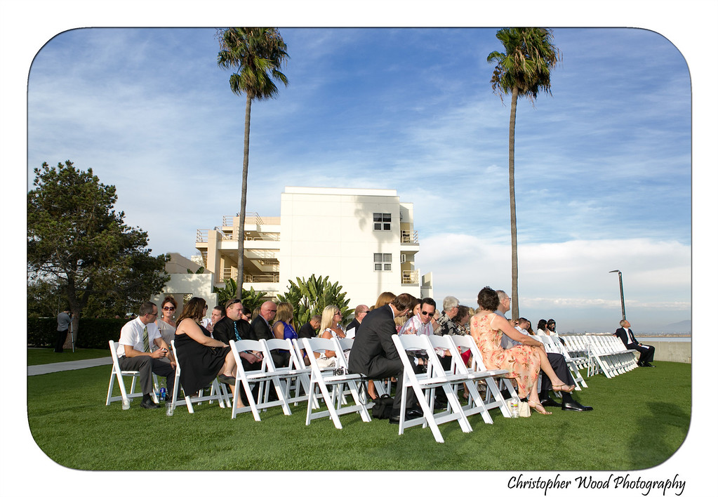 Ocean View Room Wedding